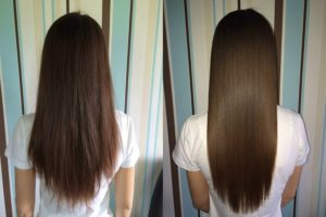 Коллагеновое обёртывание волос обучение