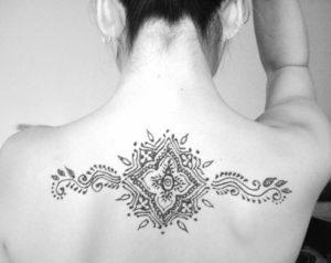 Индийская тату